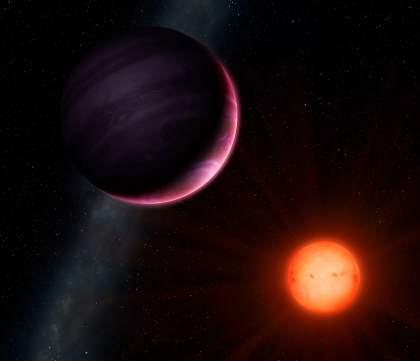 Yörüngesinde döndüğü yıldızdan daha büyük dev gezegen keşfedildi