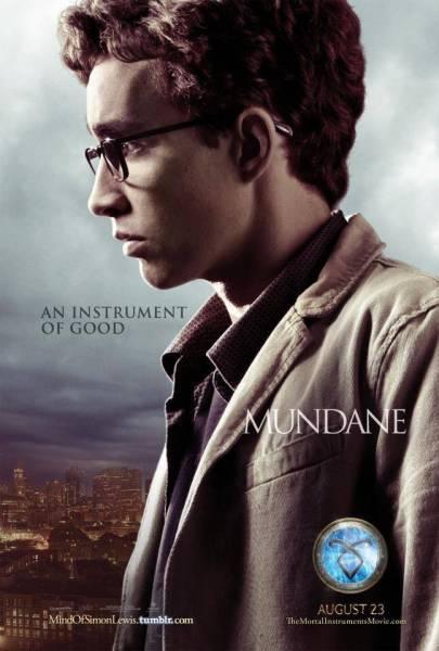 Simon in The City of Bones movie