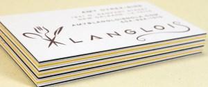 Carti de vizita carton multistrat