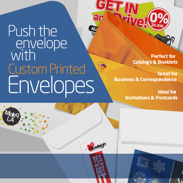 Custom Envelopes Printing Services for Business