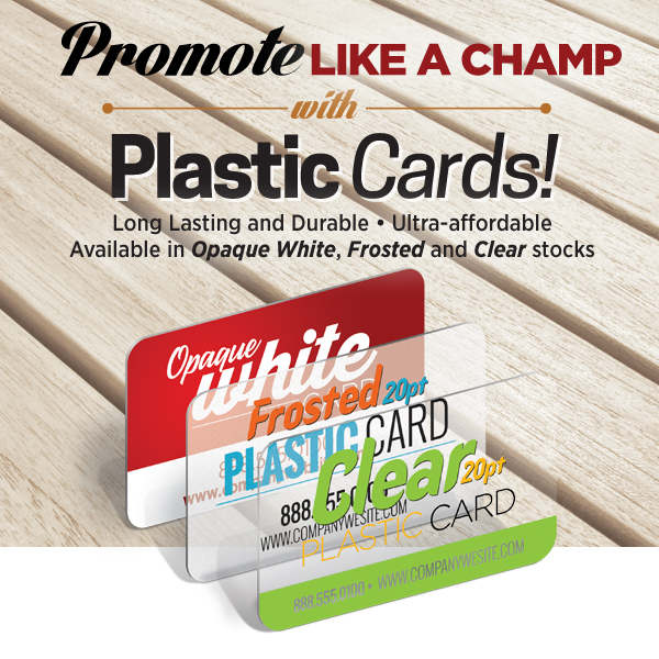 Custom Plastic Business Cards Printing