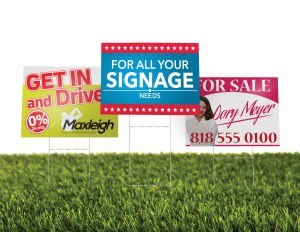 Print Custom Yard Signs