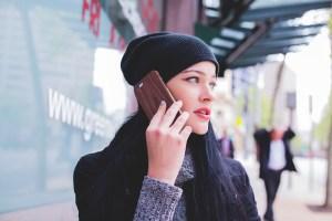 Разговор по телефону одной пары