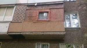 Абсурдное расширение балконов