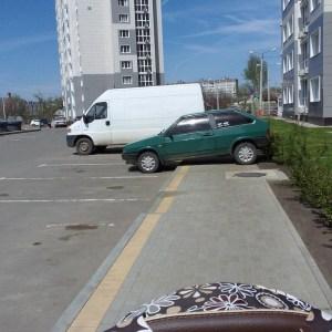 Я паркуюсь как олень