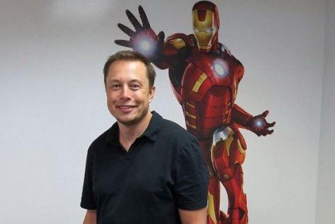 Элон Маск - прототип Тони Старка