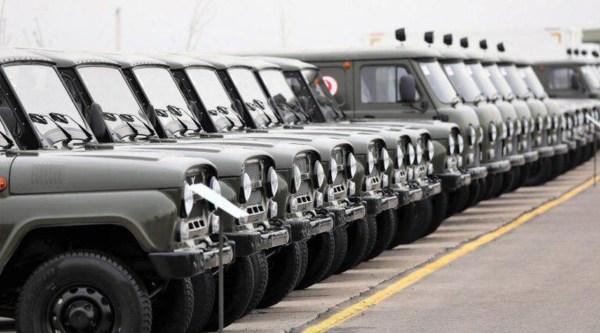 Фото: Министерству обороны передана новая военная техника ...