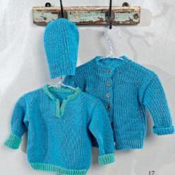 Вязание для малышей ПУЛОВЕР спицами