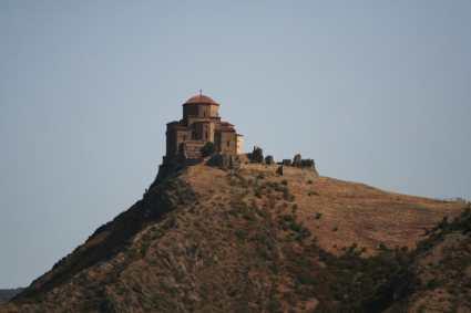 Vid na monastyr iz Mchety e