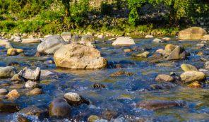 Путешествие на прекрасный водопад Махунцети