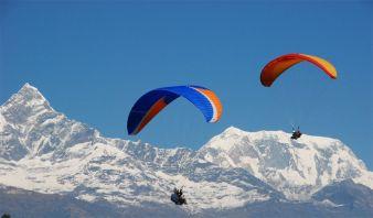 Полет на параплане от Fly Caucasus