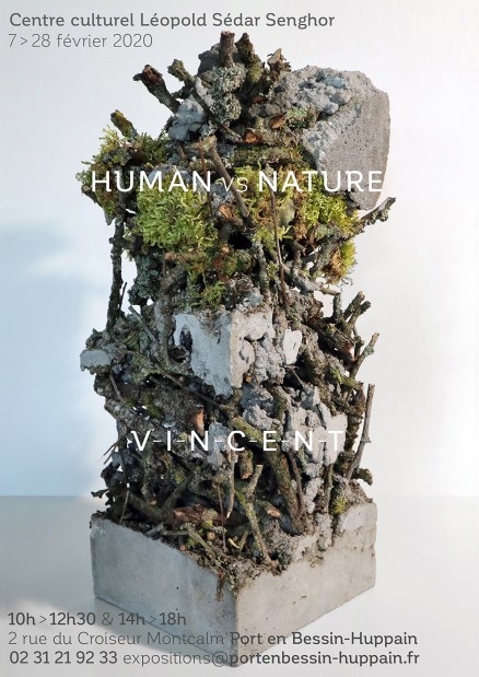 Human vs Nature, affiche expo Port en Bessin 2020