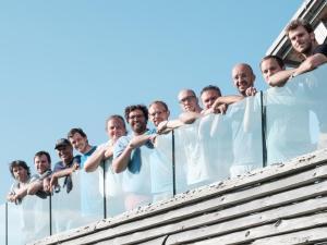 Das Team von GEIOS nach der Gründung im Sommer 2015