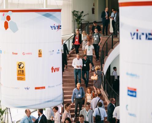 """Der VIR Innovationswettbewerb """"Sprungbrett"""" findet jährlich im Rahmen der VIR Online Innovationstage statt"""