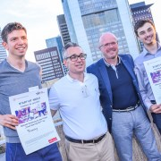 Gewinner Start-up Night Frankfurt 2017