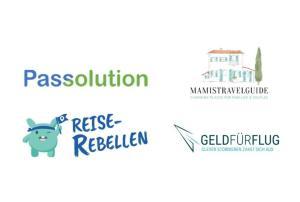 Passolution, Reise-Rebellen, GeldfürFlug und MamisTravelGuide sind neue Mitglieder im VIR Start-up Cluster