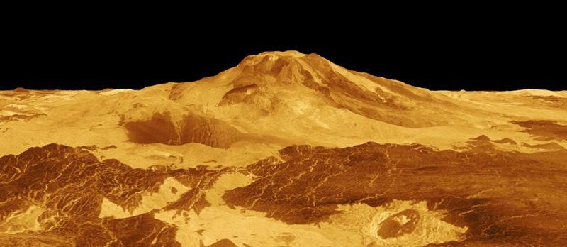 Компьютерное моделирование гор на Венере