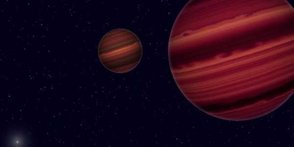Впервые астрономы обнаружили двойную звездную систему ...