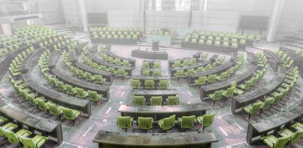 Beschluss des Wahlprogramms auf dem V-Partei Bundesparteitag Weimar