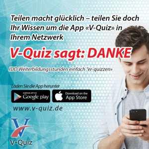 IDD-konforme Weiterbildung mit V-Quiz