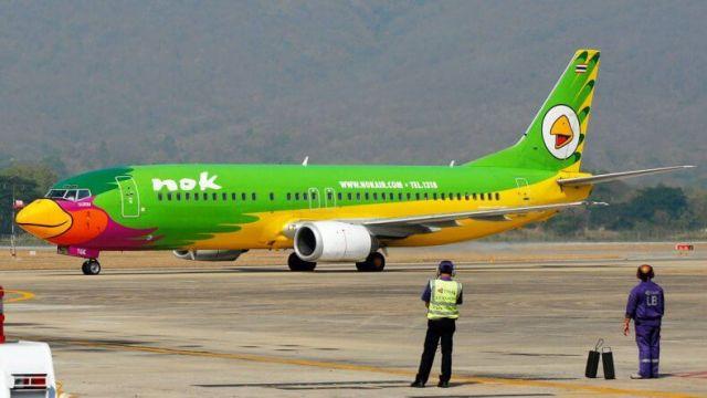 Авиакомпания-лоукостер Nok Air в Тайланде