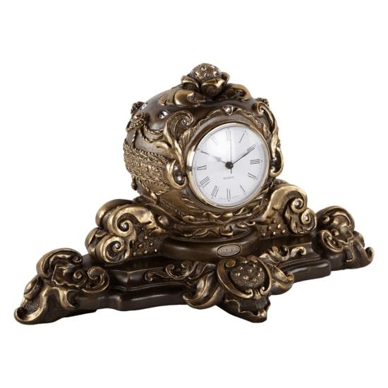 """Каминные часы BOGACHO """"Райское яблоко"""" Бронза купить в ..."""