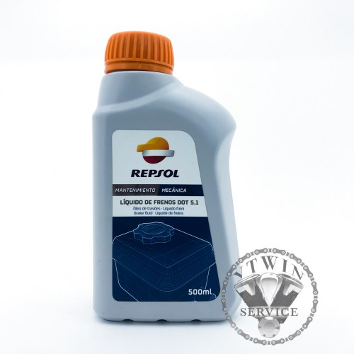 Тормозная жидкость Repsol Liquido De Frenos DOT 5.1