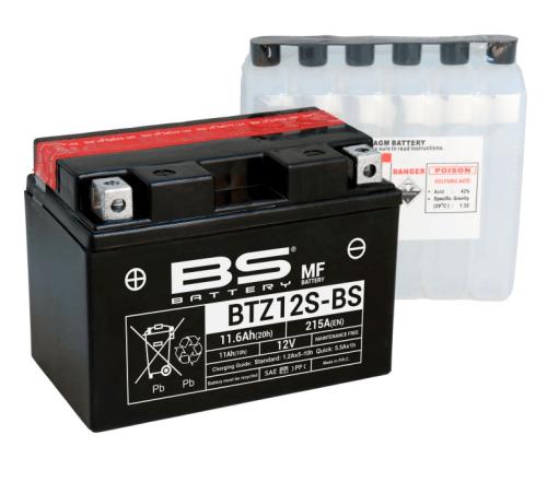 Аккумулятор BS AGM BTZ12S-BS (YTZ12S)