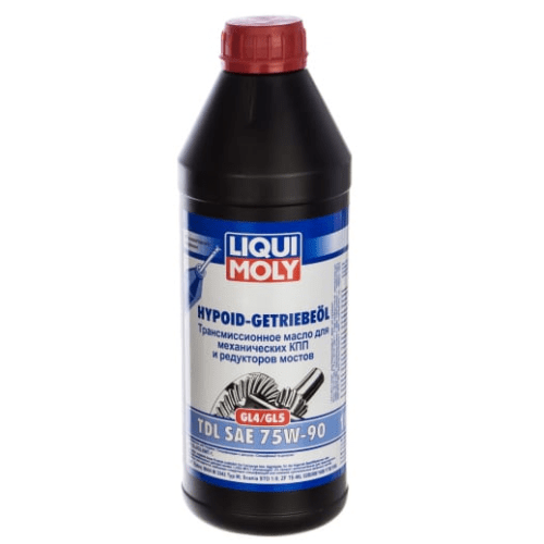 Трансмиссионное масло Liqui Moly Hypoid-Getriebeoil 75W-90 1л