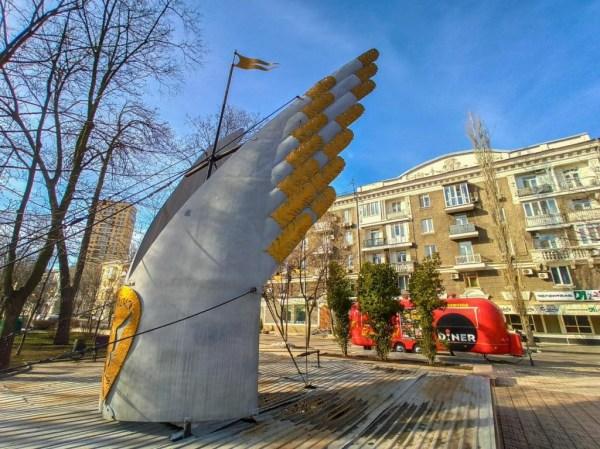 СМИ показали фото весеннего бульвара Пушкина в Донецке ...