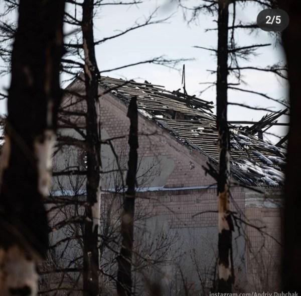 Журналист показал фото разрушенного поселка на Донбассе ...