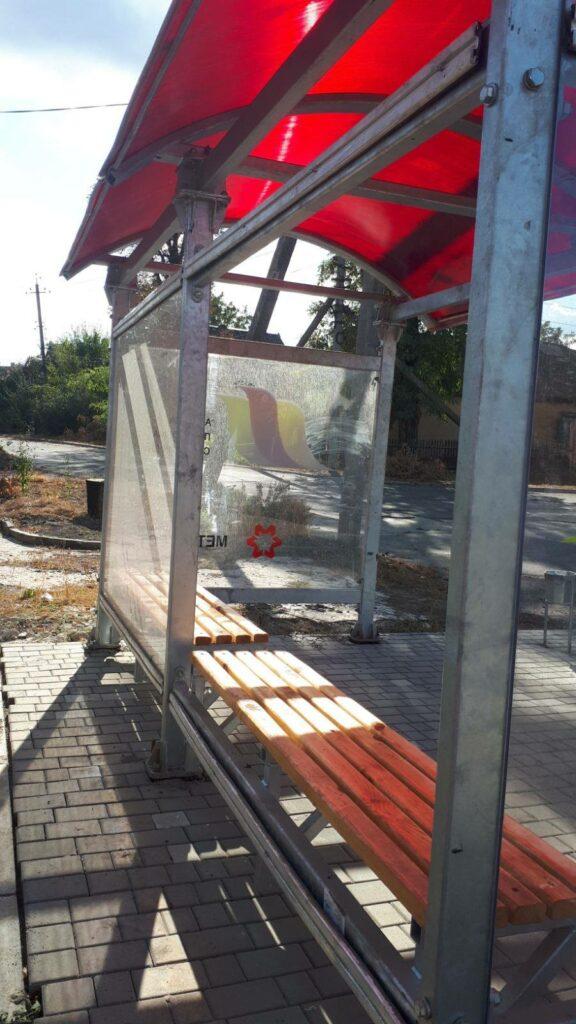 В Авдеевке вандалы начали ломать новые остановки: фото ...
