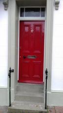 Corkicle door after