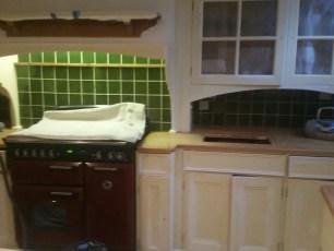 Kitchen return - 2