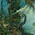 The Little Mermaid - edmund dulac's illustration