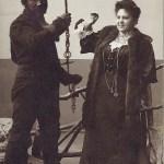 Krampus. Vintage photography