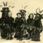Winter carnival of Krampus