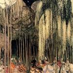 Twelve Dancing Princesses on the Way to the Dance .Kay Nielsen