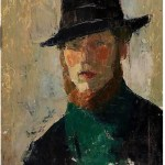 Rik Wouters. Self portrait
