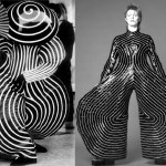 Bauhaus(left). Kansai Yamamoto for Ziggy Stardust ( Right )