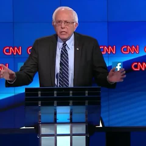 "Watch CNN Politics's Vine ""Sanders to Clinton: ""The ..."