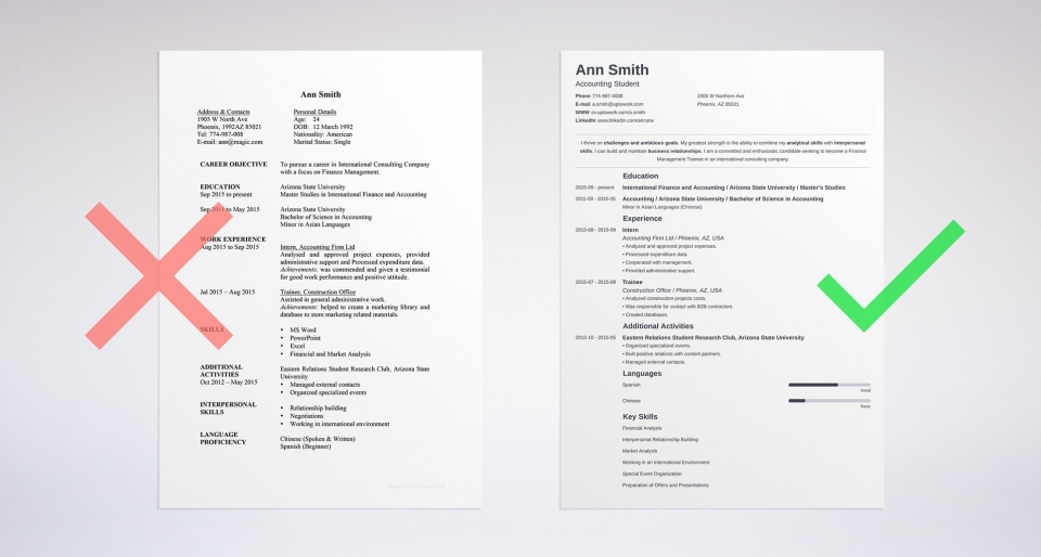 These CV Template Can Get You Any Job  Download Free CV Templates     resume builder sample online minimo