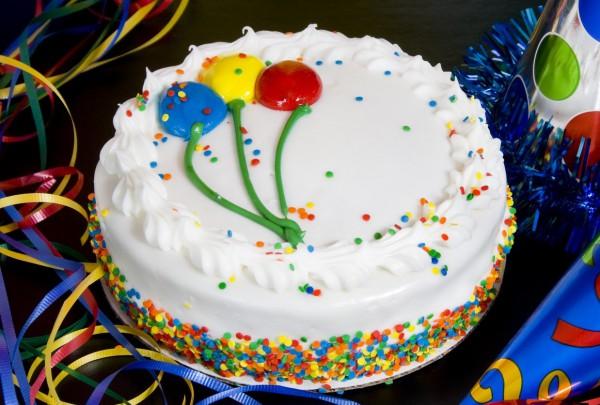 Бисквитный торт на день рождения Рецепты Кулинарные