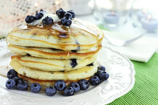 Блины с черникой ТОП5 рецептов Кулинарные советы для