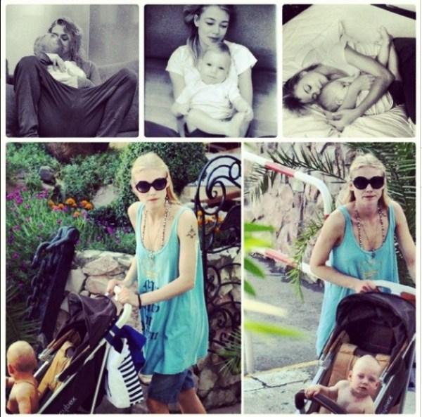 Актриса Оксана Акиньшина показала фото с сыном - Звезды и ...