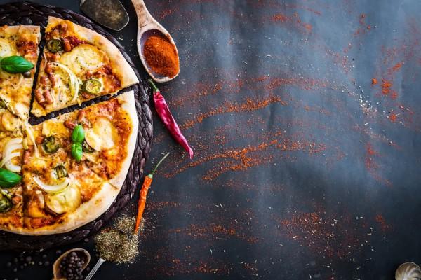 Рецепт вегетерианской пиццы с фото