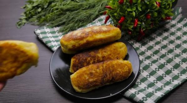 Картофельные зразы с сосиской - пошаговый рецепт с фото
