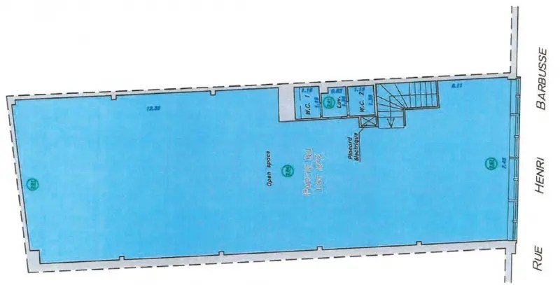 Location Bureau Clichy Entre De Ville 92110 Bureau
