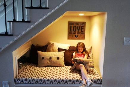 Awesome Cool Ideas To Make Room Under Stairs 11