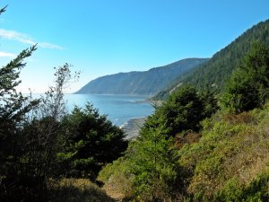 Shelter Cove to Horse Mountain Creek
